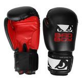 Luva De Boxe/muay Thai Bad Boy 12 Oz - Preto+vermelho