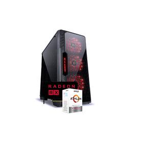 Pc Lumia Athlon 200ge A320m Hd 8gb Ptz Ssd120 Tt500 Rx570 I