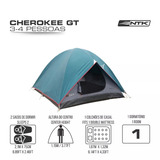 Barraca Camping Cherokee Gt 3/4p Ntk + Nota Fiscal + Frete
