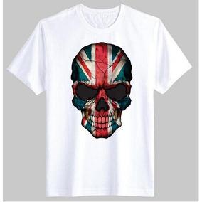 dcb269b4ce Camiseta Estampa Bandeira Inglaterra - Camisetas e Blusas no Mercado ...