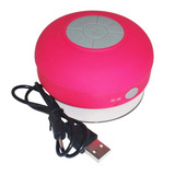 Corneta Portatil Redonda Waterproof Bluetooth Mp3 Celular
