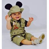 Disfraces De Mickie Safari Para Bebes