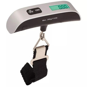 Balanza Digital Portatil De Viaje Pesa Hasta 50kg
