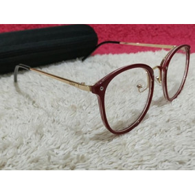 3cd7e2e33e682 Armação Óculos Infantil Juvenil Armacoes - Óculos Dourado no Mercado ...