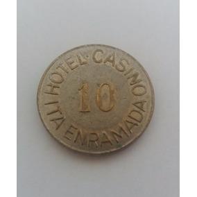 Moeda 10 Ficha Hotel Casino Ita Enramada Coleção Cod24m