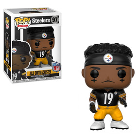 Funko Pop Figura Colección Nfl Steelers Juju Smith Schuster