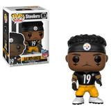 Funko Pop Figura Colección Nfl Steelers Juju Smith Schuster
