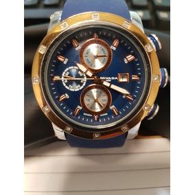 Reloj Dama Nivada Np13200 Azul