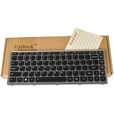 Eathtek Replacement Keyboard With Backlit And Silver Grey F