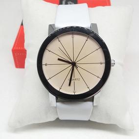 Relógio Pulso Feminino Luxo Branco Promoção