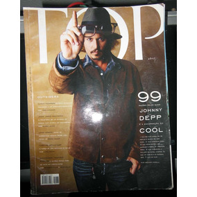 Top Magazine 76 - Abril 2005 - Johnny Depp Carol Bittencourt