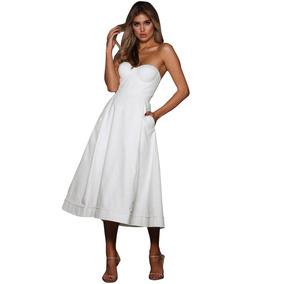 Sexy Elegante Vestido Midi Fiesta Noche 610389 1