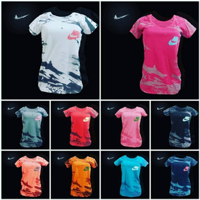 Franelas Nike Camuflaje Dri-fit Damas