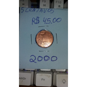 Moeda De 5 Centavos Ano 2000