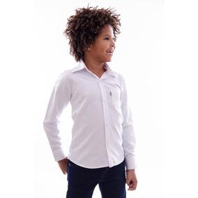 f3ae60104 Kit 5 Camisas Infantil Manga Longa Ideal Casamento Batizado