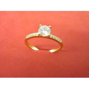5b5f97183adc Anillo De Compromiso Oro 18 Kilates Y Esmeralda - Joyería en Mercado ...