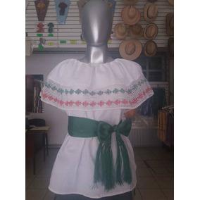 Blusa Campesina Tricolor