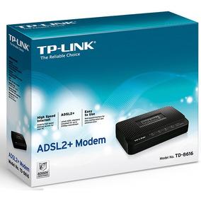 Modem Tp-link Adsl2+ Td-8616 - !garantía, Nuevo Y Sellado!