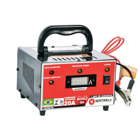 Carregador De Bateria Automático 20a - 12v - Bivolt