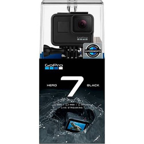 Câmera Digital Gopro Hero 7 Black Com 12 Mp + Cartao Sd 32gb