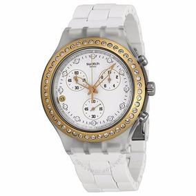 124f83fffc1 Relogio Swatch Irony Pulseira Branca - Relógios no Mercado Livre Brasil