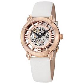 Reloj Acero Inoxidable Correa Piel Dama 156.124w14 Stührling