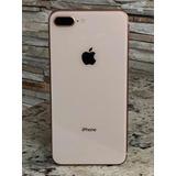 Iphone 8 Plus 64gb Dourado Com 7 Meses De Garantia
