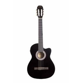 Guitarra Electroacustica 39 Con 3-band Eq-310 Negro Babilon