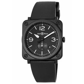 Bell & Ross Aviation Br S Negro Mate Cerámica Brs-bl-cem/srb