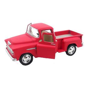 Chevy Stepside Pick-up 1955 1/32 Vermelho Fosco Miniatura
