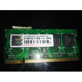 Transcend 1gb Ddr2 667 So-dimm Cl5