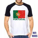Camisa Raglan Portugal Bandeira Estilo Swag Thug Life C 2498e8970a2de