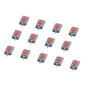 Chave Toque Micro Botão Smd 2 Pinos 3x6x2,5mm (10 Peças)