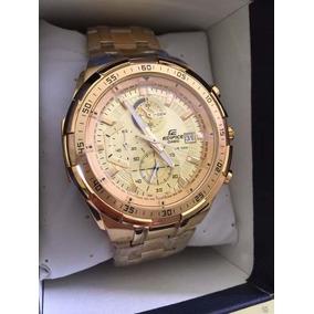 79a46684601 Relogio Casio Edifice Ef 558 Dourado - Relógio Casio Masculino no ...