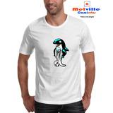 Camiseta Estampada Peixe Mascote Santos Futebol Torcida 6c6d0c50c3a77