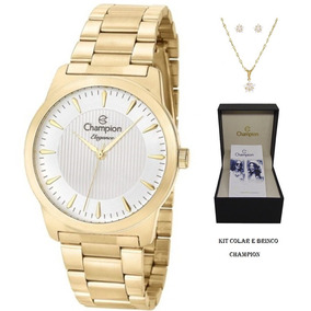 99b4f22fd1fe0 Relogios Champion Elegance Prata - Relógios De Pulso no Mercado ...