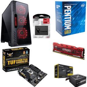 Pc Lumia Pentium G5400 B360m Plus Bl 8gb Vs400 Ssd 120gb