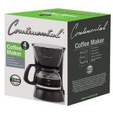 Coffee Maker Continental Ce-23659 4tz. Negro Icb Technologie