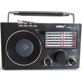 Rádio Am Fm Sw1-9 Pendrive Bateria Pilha Energia Fone Ouvido
