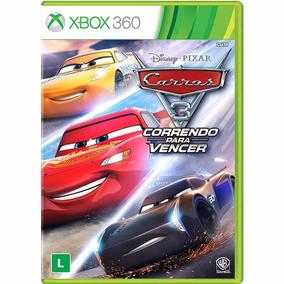 Jogo Carros 3 : Correndo Para Vencer Xbox 360 Midia Física