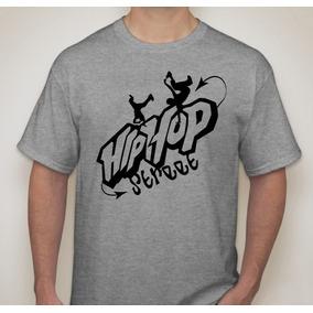 Camiseta Com Estampa Personalizada Hip Hop e26f16a1269