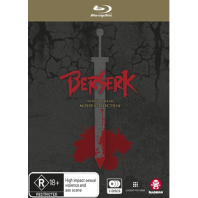 Blu-ray Berserk Golden Age Arc Movie Collection (import)