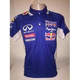 Camiseta Polo Formula 1 F1 Red Bull Corrida Azul Claro ba8a2336a62