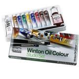Winsor & Newton Winton Studio Set Oleo + 2 - Cromarti