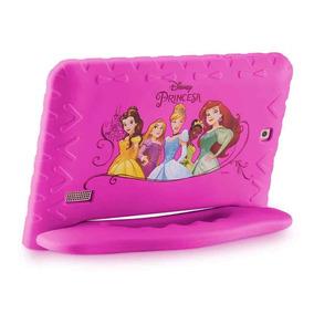 Tablet Infantil Kid Pad Plus Capa Emborrachada Rosa Menina