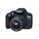 Cámara Reflex Canon Eos Rebel T6 Wifi 18mp Kit Lente 18-55mm