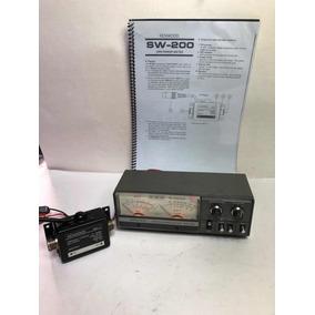 Medidor De Swr/pwr Kenwood Sw-200 Com Swc-1 Série 4080140