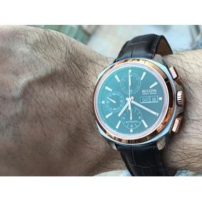 Relógio Bulova Accu-swiss Telc Chronograph Automatic 65b167