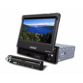 Radio Para Auto Sm-777bt Sumas 7 Tv Dvd Mp3 Bluetooth Amv