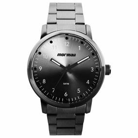 Relógio Mormaii Masculino Mo2035jd/4p Aço Grafite